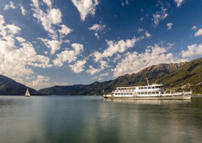 Schifffahrt auf dem Lago Maggiore