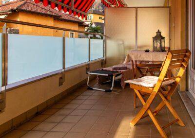 Grosszügiger Balkon